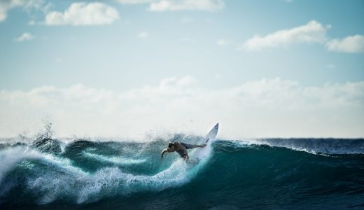 サーフィンで好まれる波は沖から陸?陸から沖?海岸に平行?|お天気検定8月29日