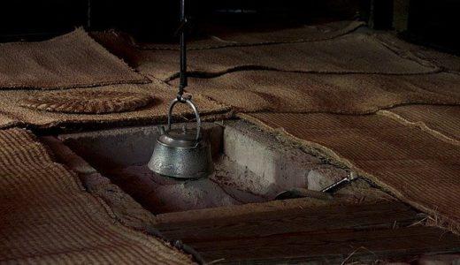 囲炉裏の上に付けられるものの形は魚/鳥/牛?|お天気検定1月16日